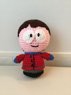 """Crochet Amigurumi """"South Park"""" Inspired Clyde Doll PDF Pattern by Shimmeree Creations on Ravelry"""
