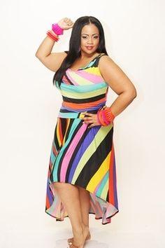 Summer plus size dress