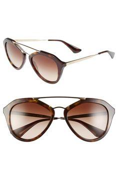9402861591 PRADA 54mm Gradient Lens Sunglasses.  prada   Sunglasses Women