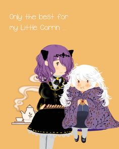 Fire Emblem Fates - Camilla and Corrin