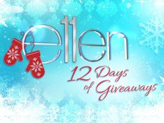 Day 11 of 12 days of giveaways show