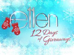 Ellen b ellentv giveaways