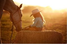 Horse and Girl by Ryan & Jennifer Carter Horse Girl Photography, Equine Photography, Children Photography, Photography Poses, Family Photography, Westerns, Estilo Country, Horse Photos, Horse Love
