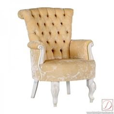 Sessel MATTEO AVORIO Buche Kirsch elfenbein B:69cm - Ein Sessel muss entspannen. Ein Sessel im Landhausstil entspannt nicht nur, er bringt auch eine romantische Atmosphäre in ihre vier Wände.