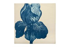 S/4 Iris Napkins, Blue on OneKingsLane.com