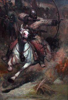 Guerreiro nômade (Por Wang Kewei)