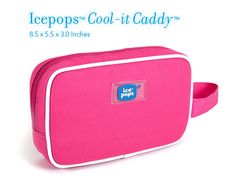 @feelthechill Icepops™ by Cool-it Caddy™  Same cool innovation, fun new shape and colors