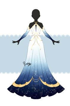 Dress Design Drawing, Dress Drawing, Clothing Sketches, Dress Sketches, Character Costumes, Character Outfits, Fashion Design Drawings, Fashion Sketches, Anime Outfits