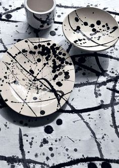Atelier Buffile collaboration with Pierre Frey - from fabrics to ceramics