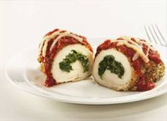 Stuffed Chicken Parmesan - Recipe Details
