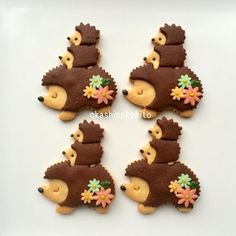 Ridiculous Hedgehog Cookies