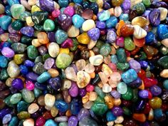 Polished rocks...one of my many obsessions and collections of youth.