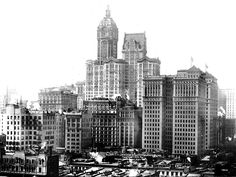 Singer City Investing Hudson Terminal 1909 crop - Singer Building - Wikipedia