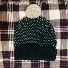 This is a hand knitt