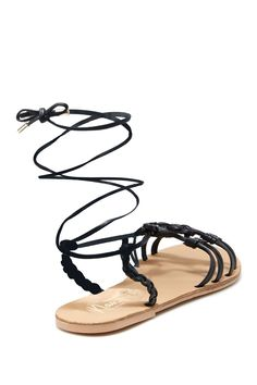 June Knotted Flat Sandal