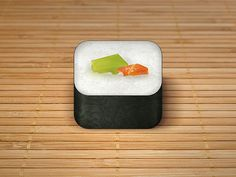 Food App Icons by Ryan Ford, via Behance