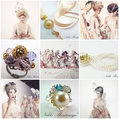 Marie Antoinette jewellery inspiration and design by Nikki Montenegro