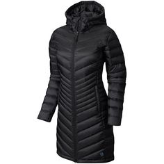 Mountain Hardwear Nitrous Hooded Down Parka Black