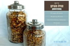 You simply have to try this easy recipe for grain free granola. Watch the videos on how cheap grains are made into socially acceptable breakfast foods. If you understand what is wrong with cereals you will understand what is wrong with modern food production. | ditchthecarbs.com