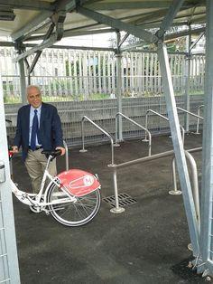 Oggi Ecologika, in partnership con il Comune di Monza, inaugura alla Stazione Ferroviaria di Piazza Castello la prima velostazione della città: gratuita, facilmente accessibile e sorvegliata, grazie alla tecnologia SIELCO.