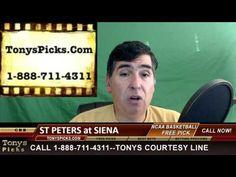 St Peters Peacocks vs. Siena Saints Pick Prediction NCAA College Basketb...