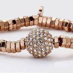park lane rose gold stretch bracelet Super pretty & more sparkly in person Park Lane Jewelry Bracelets