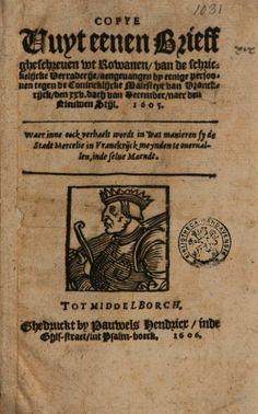 Copye vuyt eenen brieff gheschreuen wt Rowanen, van de schrickelijcke ... - Google Books