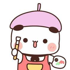 Cute Panda Cartoon, Cute Cartoon Images, Cute Cartoon Characters, Cute Love Cartoons, Cute Cartoon Wallpapers, Cute Images, Cute Monsters Drawings, Cute Bear Drawings, Cute Animal Drawings Kawaii