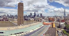The viewing platform from the Tate Modern Switch House is amazing.