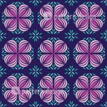 Geometrical Floral Pattern designed by Yenty Jap