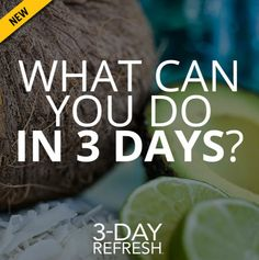 3 day cleanses, benefits of cleansing in 3 days 3 Day Refresh, Full Body Detox, Body Cleanse, Natural Detox Drinks, Natural Cleanse, Healthy Detox, Healthy Fit, Healthy Foods, Healthy Recipes
