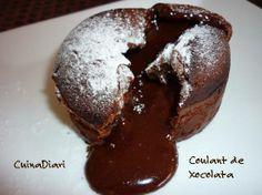 COULANT DE CHOCOLATA (també adaptada per a celíacs)