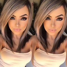 Looking for the perfect fall hair color? We asked top celebrity stylists and colorists for easy fall hair color ideas you should try. Medium Hair Styles, Short Hair Styles, Fall Hair Colors, Hair Color And Cut, Great Hair, Pretty Hairstyles, Men's Hairstyle, Formal Hairstyles, Celebrity Hairstyles