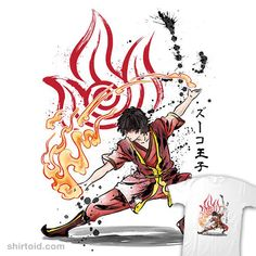 The Power of the Fire Nation | Shirtoid #anime #avatarthelastairbender #drmonekers #film #movies #tvshow