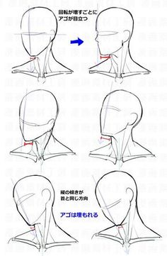 Anatomy Drawing Tutorial You Can Enjoy drawing tips With These Tips Drawing Heads, Body Drawing, Anatomy Drawing, Drawing Base, Face Anatomy, Male Face Drawing, Anime Face Drawing, Neck Drawing, Anatomy Art