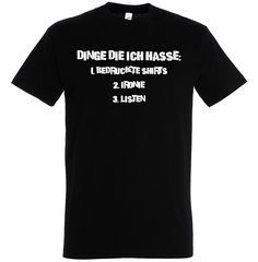 """3 Dinge..."" Shirt, Fun, Ironie"
