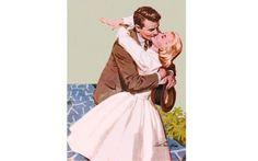 Illustration by Arthur Sarnoff for 'Woman' (1960)