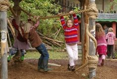 Natural Playgrounds | Natural Playground - Climbing Ropes