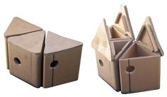 recycled cardboard in useable storage seating