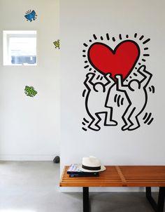 J'ai trouvé ce chouette sticker sur Stickboutik.com à -5%: Iconographie culte, à la symbolique universelle, découvrez ce nouveau visuel de la collection Keith Haring.Figure emblématique des jeunes ar.... Collection exclusive de stickers muraux Keith Haring,une alternative aux affiches et posters Keith Haring. Adhésifs décoratifs design pour une déco murale originale. Les Hiéroglyphes de Keith Haring - Exposition Keith Haring - Keith Haring au Musée en Herbe - Expo Keith haring Paris