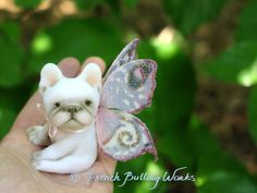 Hey, I found this really awesome Etsy listing at https://www.etsy.com/listing/151720521/french-bulldog-fairy-original-one-of-a