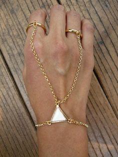 cute ring bracelet!