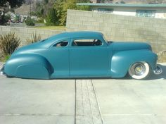 blue 48 plymouth chopped with skirts
