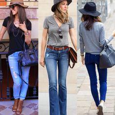 looks com calça jeans preta e sapatilha - Pesquisa Google