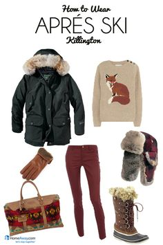 Packing for Après Ski, Ski Clothes Packing List - HomeAway Vacation Ideas