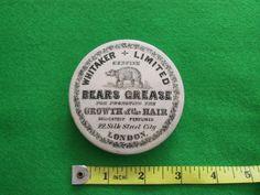 A Rare Whitaker Bears Grease Pot Lid.