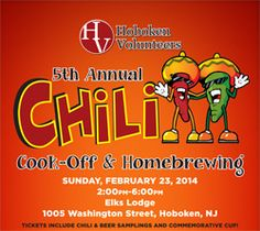 2014 Hoboken Chili Cook-off and Homebrewing Competition