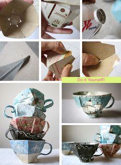DIY tea cup!