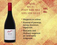 Penfolds Bin 23 Pinot Noir Adelaide Hills- 2014 Vintage.