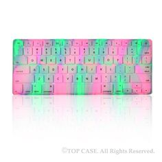 TopCase New Design Polar Light Series Silicone Keyboard Cover Skin for Macbook Unibody Whtie / Macbook Pro Aluminum Unibody with or without Retina Display / New Macbook Air / Wireless Keyboard with TopCase Mouse Pad (lavender Spring) Calcomanía Macbook, New Macbook Air, Macbook Air 13 Inch, Macbook Pro 13, Macbook Accessories, Computer Accessories, Tech Accessories, Keyboard Cover, Electronics Gadgets